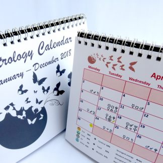 Astrology Desk Calendar 2018 April
